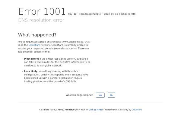 Vorschau von www.classic-car.tv, Oldtimer-TV