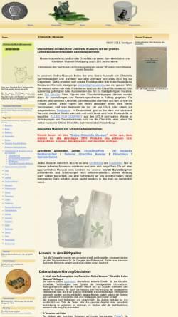 Vorschau der mobilen Webseite www.chinchilla-museum.de, Chinchilla Museum Deutschland