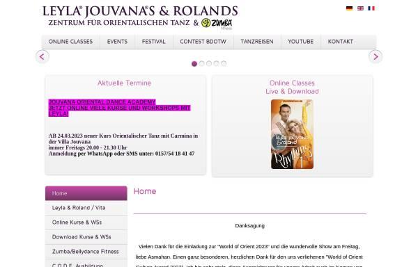 Vorschau von www.leyla-jouvana.de, Leyla Jouvana