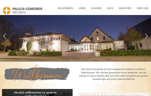 Vorschau von www.paulusgemeinde.de, Paulus-Gemeinde
