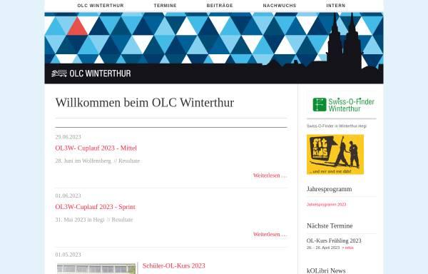 Vorschau von www.olcw.ch, OLC Winterthur