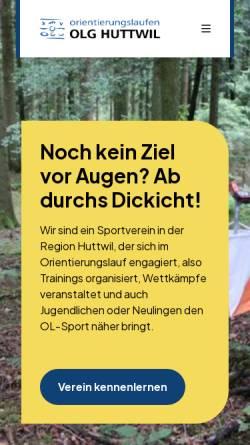Vorschau der mobilen Webseite www.olghuttwil.ch, OLG Huttwil