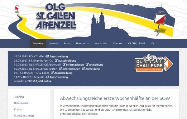 Vorschau von www.olgsga.ch, OLG St.Gallen/Appenzell