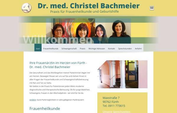 Vorschau von www.ihrefrauenaerztin.de, Bachmeier, Dr. med. univ. Christel und Pauthner, Dr. med. Stephanie