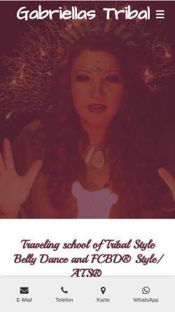 Vorschau der mobilen Webseite www.tanz-oase.de, Tanz Oase