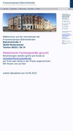 Vorschau der mobilen Webseite dr-schmidt.info, Schmidt, Dr. med. Robert und Schmidt, Dr. med. Peter