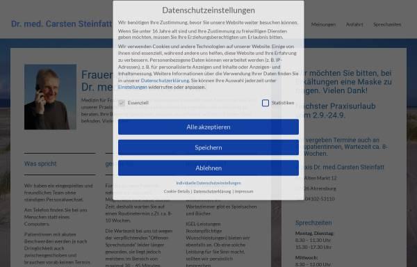 Vorschau von dr-steinfatt.de, Steinfatt, Dr. med. Carsten
