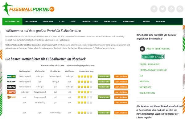 Vorschau von www.fussballportal.de, Fussballportal.de
