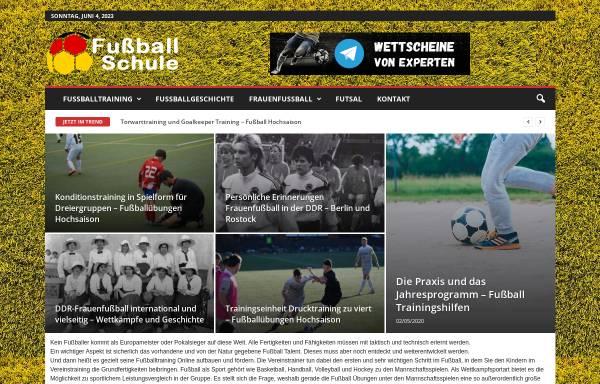 Vorschau von www.fussballschule-1.de, Fussballschule-1