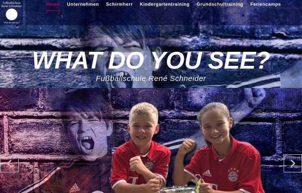 Vorschau von www.fussballschule-schneider.de, Fussballschule René Schneider