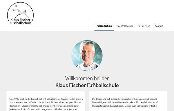 Vorschau von www.klaus-fischer-fussballschule.de, Klaus Fischer Fussballschule