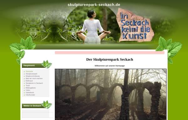 Vorschau von www.skulpturenpark-seckach.de, Skulpturenpark in Seckach / Odenwaldkreis