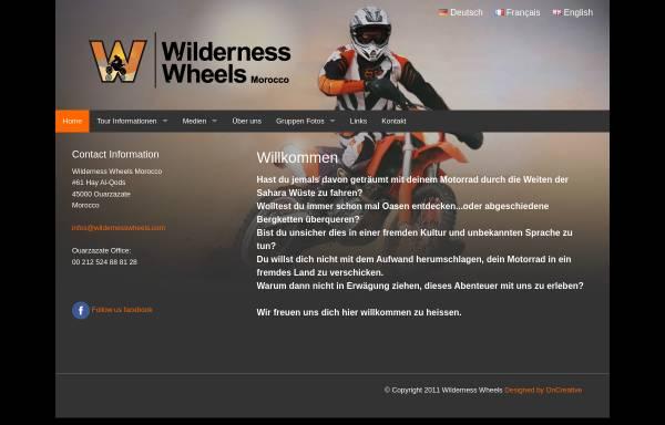 Vorschau von enduromarokko.com, Wilderness Wheels Morocco