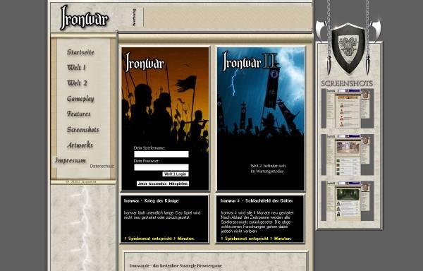 Vorschau von www.ironwar.de, Ironwar