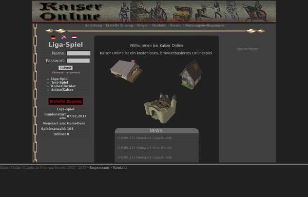 Vorschau von www.k-o-l.de, Kaiser Online