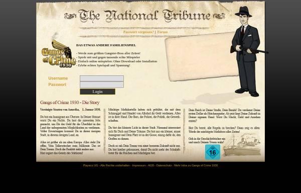 Vorschau von www.mafia1930.de, Mafia1930