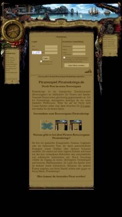 Vorschau der mobilen Webseite www.piratenkriege.de, Piratenkriege