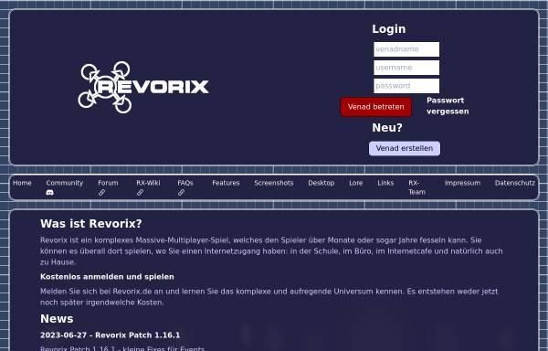 Vorschau von www.revorix.de, Revorix