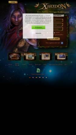 Vorschau der mobilen Webseite www.xhodon.de, Xhodon