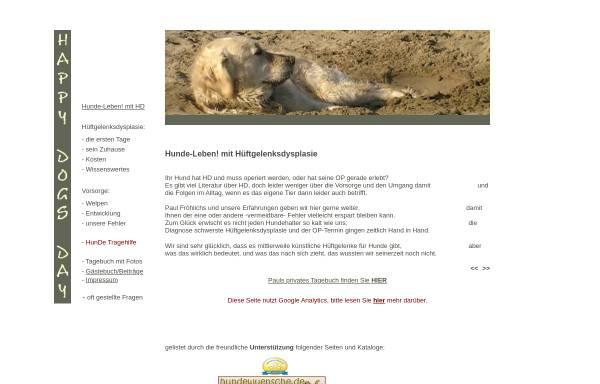 Vorschau von www.happy-dogs-day.de, HundeLeben! mit HD