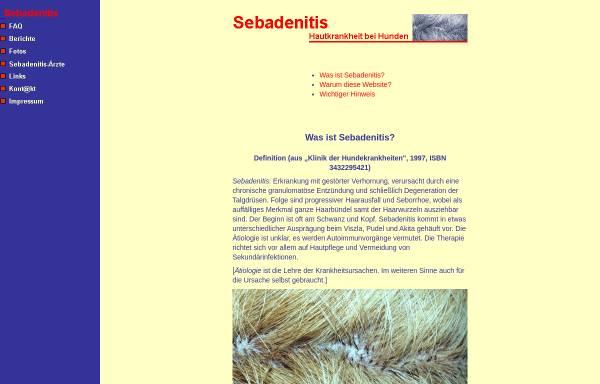 Vorschau von www.sebadenitis.de, Sebadenitis