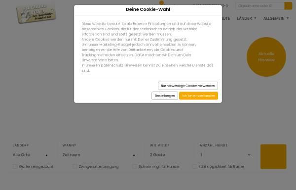 Vorschau von www.flughund.de, Flughund Reisen