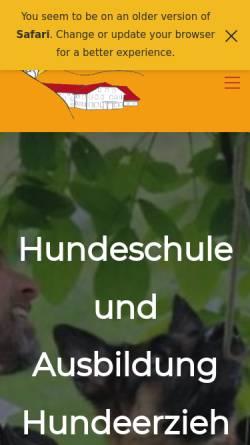 Vorschau der mobilen Webseite www.triple-s.ch, Triple-S Hundeferienparadies