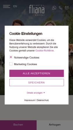 Vorschau der mobilen Webseite www.urlaubmitdemhund.com, Urlaub mit dem Hund