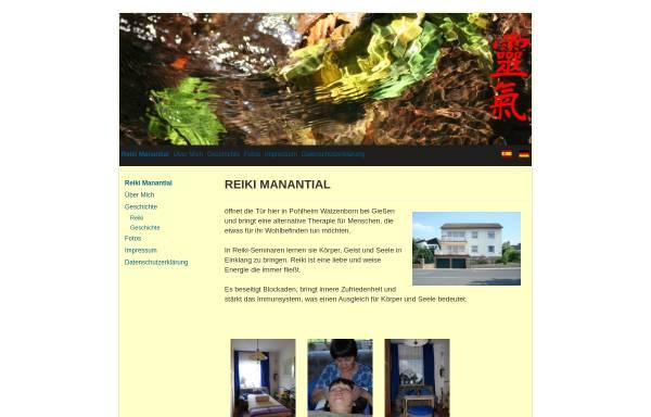 Vorschau von www.reiki-manantial.de, Alexis Föhst