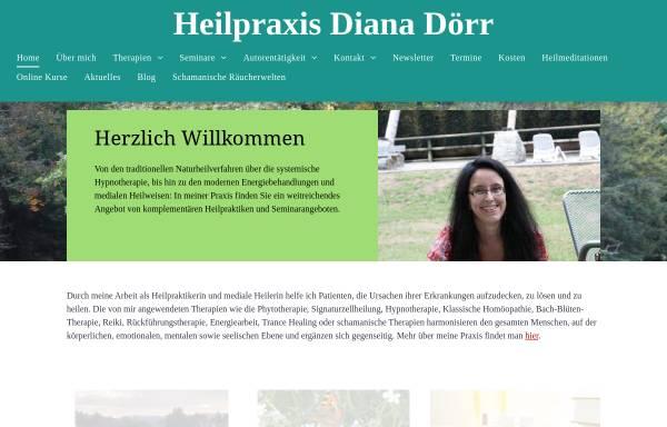 Vorschau von www.dianadoerr.de, Diana Dörr