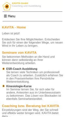 Vorschau der mobilen Webseite reiki-frankfurt.de, Karin Brügelmann