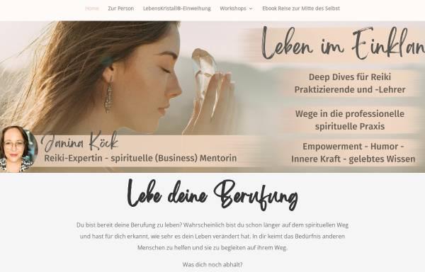 Vorschau von www.leben-im-einklang.de, Janina Köck