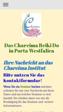 Vorschau der mobilen Webseite www.chareima-rainbow-reiki-do.de, Marion Hirche