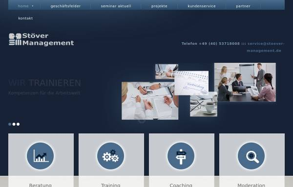 Vorschau von www.stoever-management.de, Stöver Management, Inh. Gerd Stöver