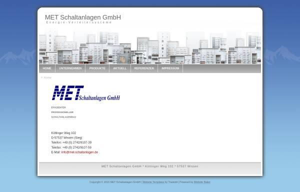 Vorschau von www.met-schaltanlagen.de, MET Schaltanlagen, Inh. Thomas Merkel
