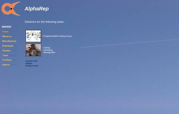 Vorschau von www.alpharep.de, AlphaRep, Inh. Chris Tiefenthaler