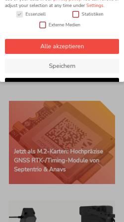Vorschau der mobilen Webseite www.compotek.de, CompoTEK GmbH