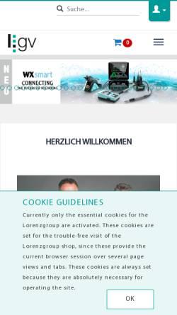 Vorschau der mobilen Webseite www.zillner.de, Zillner Elektronik GmbH