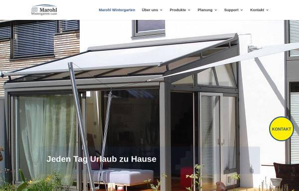 marohl wintergarten gmbh in waging winterg rten. Black Bedroom Furniture Sets. Home Design Ideas