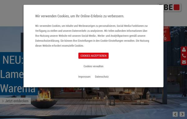 Vorschau von www.rbe-stuhr.de, RBE Bauelemente