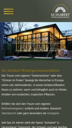 Schubert Wintergarten Gmbh In Wangen Wintergarten Glasanbauten Und