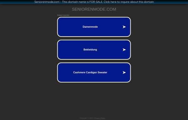 Vorschau von www.seniorenmode.com, Gabriel Mode für Senioren, GMS GmbH