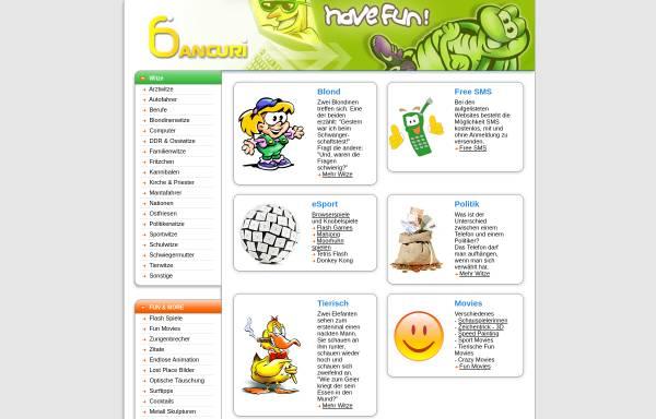 Vorschau von www.bancuri.de, Bancuri.de