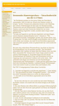 Vorschau der mobilen Webseite www.gelaechter.de, Gelächter