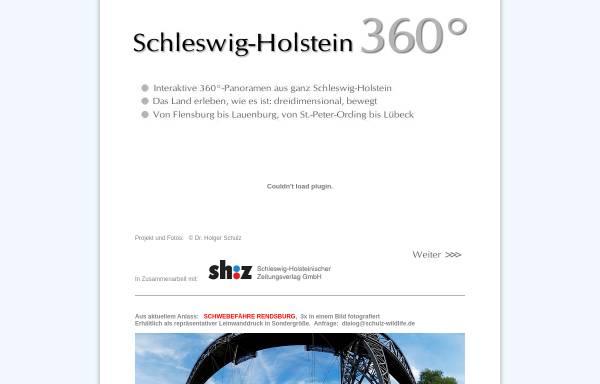 Vorschau von www.schleswig-holstein-360.de, Schleswig-Holstein 360°