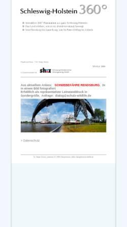 Vorschau der mobilen Webseite www.schleswig-holstein-360.de, Schleswig-Holstein 360°