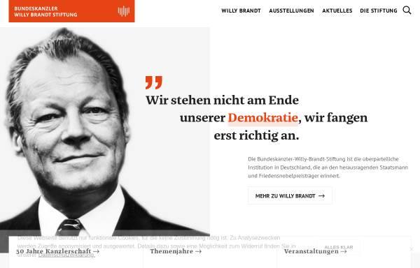 Vorschau von www.bwbs.de, Bundeskanzler-Willy-Brandt-Stiftung