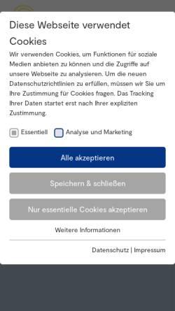 Vorschau der mobilen Webseite www.stiftungen.org, Bundesverband Deutscher Stiftungen