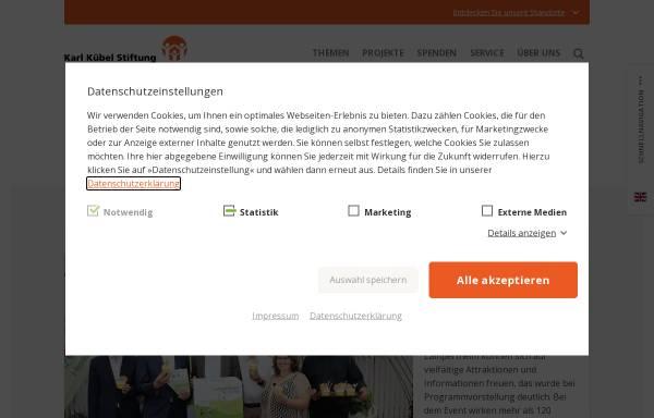 Vorschau von www.kkstiftung.de, Karl Kübel Stiftung