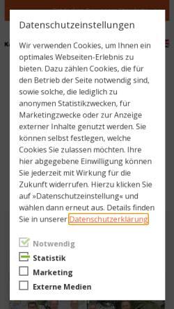 Vorschau der mobilen Webseite www.kkstiftung.de, Karl Kübel Stiftung